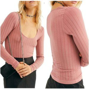 NWT Free People Lucky You Layering Top XS/S